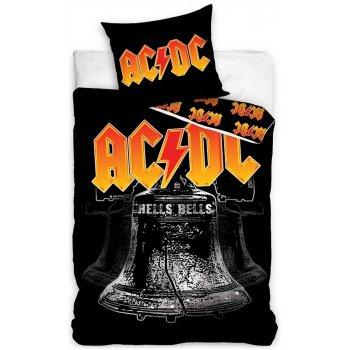 Bavlnené posteľné obliečky AC/DC - Hells bells