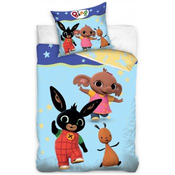 Detské posteľné obliečky Veselý Zajačik Bing