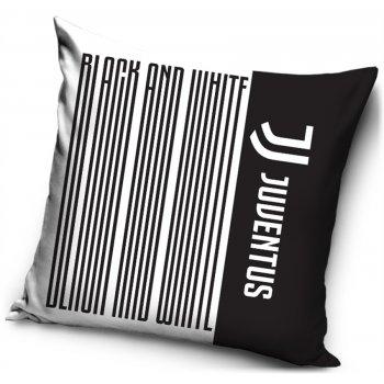 Povlak na vankúš Juventus FC - Black Stripes