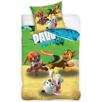 Bavlnené posteľné obliečky Paw Patrol - Frisbee