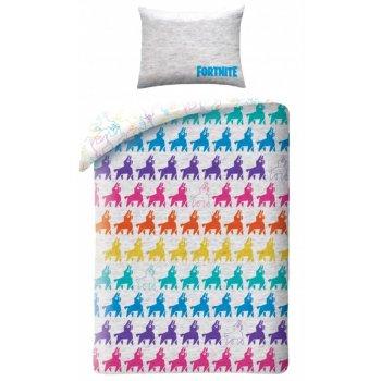Bavlnené posteľné obliečky Fortnite