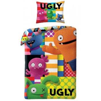 Bavlnené posteľné obliečky Ugly Dolls