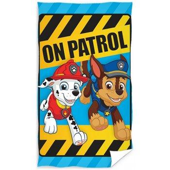 Detský uterák Paw Patrol - Chase a Marschall
