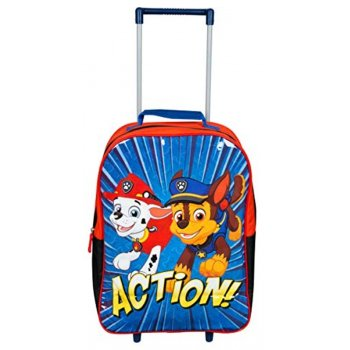 Detský cestovný kufor na kolieskach Paw Patrol