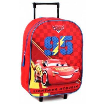 Detský cestovný kufor na kolieskach Auta - Blesk McQueen