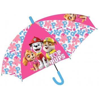 Dievčenský dáždnik Tlapková patrola - Skye, Marschall a Chase