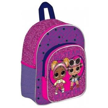 Dievčenský batoh s trblietkami L.O.L. Surprise