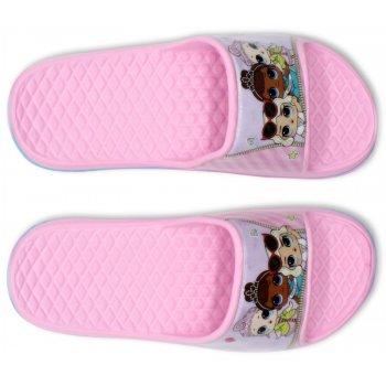 Dievčenské gumové pantofle L.O.L. Surprise - svetlo ružové