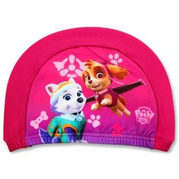Dievčenská kúpacia čiapka Paw Patrol - ružová