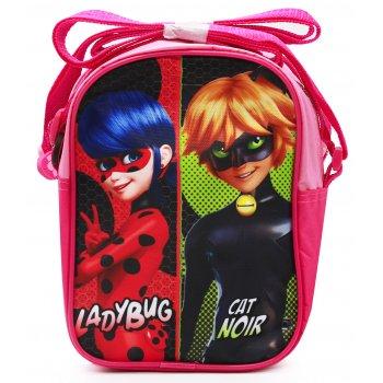 Dievčenská taška cez rameno Kúzelná lienka a Čierny kocúr