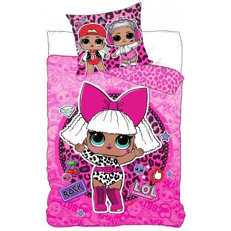 Bavlnené posteľné obliečky L.O.L. Suprise