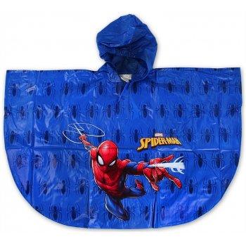 Detská pláštenka / pončo Spiderman - modrá