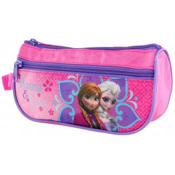 Puzdro na ceruzky Ľadové kráľovstvo - Anna & Elsa