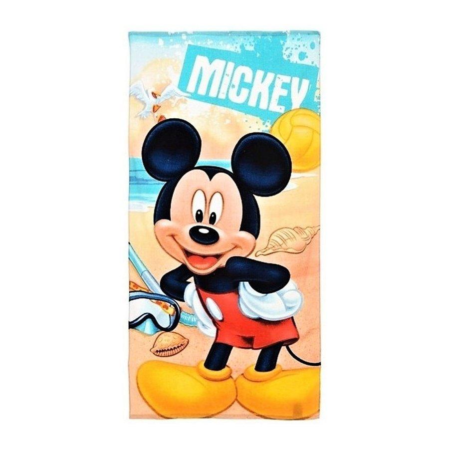 Plážová osuška Mickey Mouse - potápač