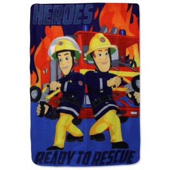 Fleecová deka Požiarnik Sam - Heroes