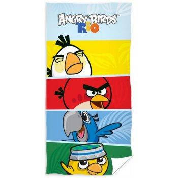 Bavlnená plážová osuška Angry Birds - RIO