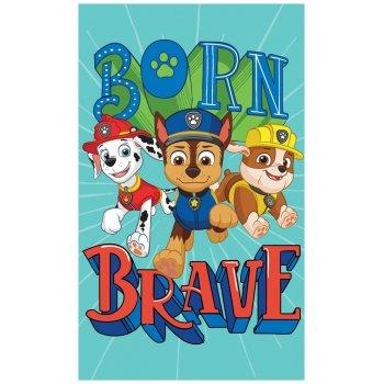 Detský uterák Paw Patrol - Born brave