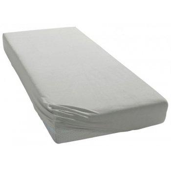 Jersey prestieradlo na jednolôžko - 90 x 200 cm - šedé