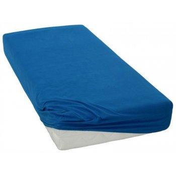 Jersey prestieradlo - 90 x 200 cm - tmavě modré