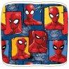 Chlapčenský flísový nákrčník / tunel na krk Spiderman.Z vonkajšej strany je povrch príjemne plyšový s kolážou obrázkov komiksového a filmového superhrdinu Spidermana, z vnútornej strany je hrejivý a chlpatý materiál polar fleece. Veľkosť je univerzálna - pre deti.
