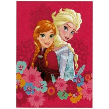 Detská flísová deka Ľadové kráľovstvo - Frozen