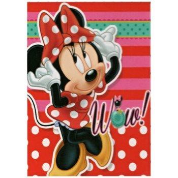 Dievčenská flísová deka Minnie Mouse - WOW