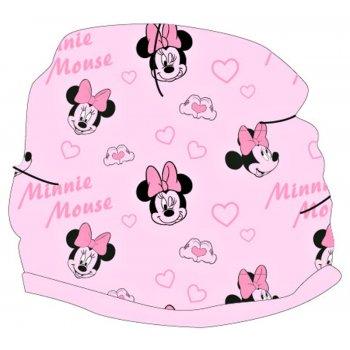 Dievčenská jarná / jesenná terry čiapka Minnie Mouse - Disney
