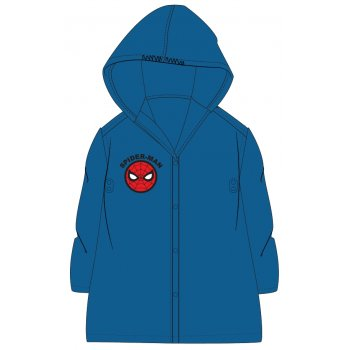 Detská pláštenka Spiderman - modrá navy