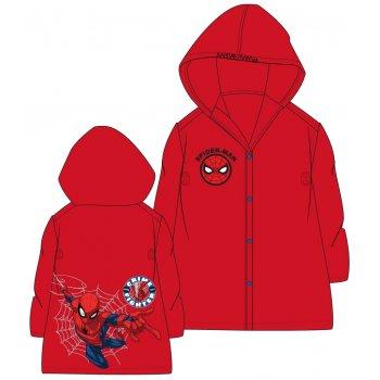 Detská pláštenka Spiderman - červená