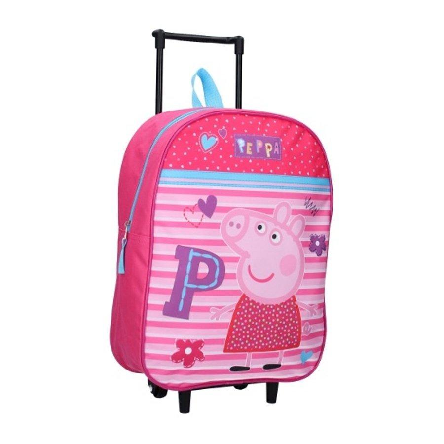Detský cestovný kufor na kolieskach Prasiatko Peppa
