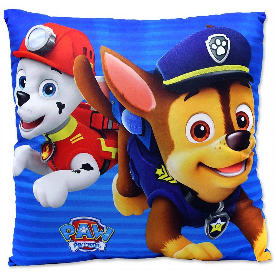 Detský vankúš Paw Patrol - Marschall a Chase