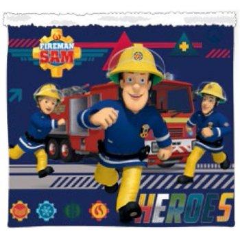 Chlapčenský zimný nákrčník Požiarnik Sam