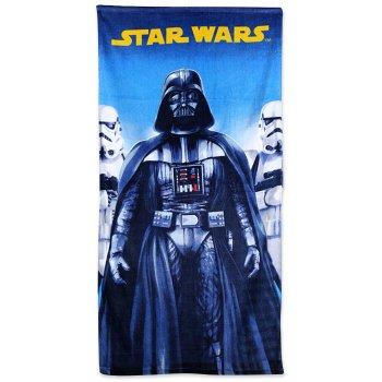 Plážová osuška Star Wars - Darth Vader a Stormtrooperovia