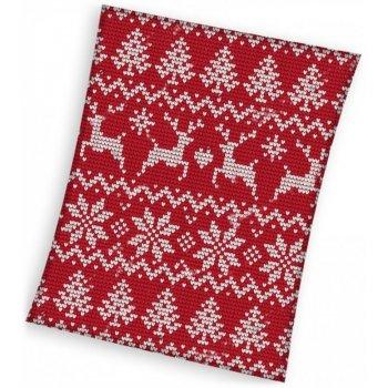 Vianočná fleecová deka - nórsky vzor