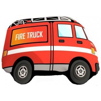 Tvarovaný 3D vankúš hasičské auto