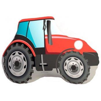 Tvarovaný 3D vankúš traktor