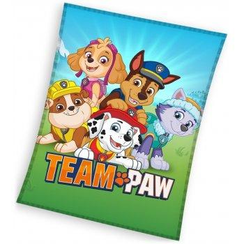 Veľká detská fleecová deka Tlapková patrola - Paw Patrol