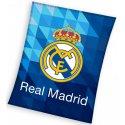 Veľká fleecová deka FC Real Madrid - Blue crystal