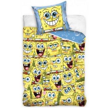 Bavlnené posteľné obliečky Spongebob - Sponge Bob všade kam sa pozrieš
