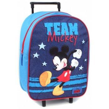 Detský cestovný kufor na kolieskach Mickey Mouse - Disney