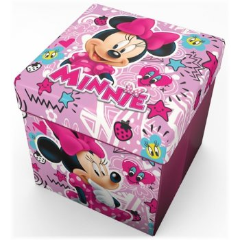 Taburet s úložným priestorom Minnie Mouse - Disney