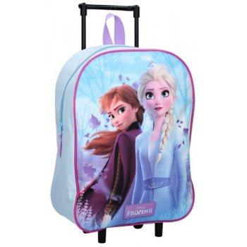 Detský cestovný kufor na kolieskach Ľadové kráľovstvo