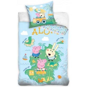 Detské posteľné obliečky Prasiatko Peppa - Aloha