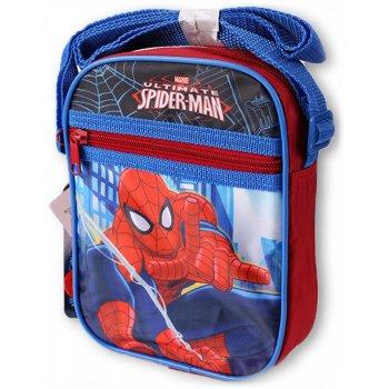 Taška cez rameno Spiderman s predným vreckom