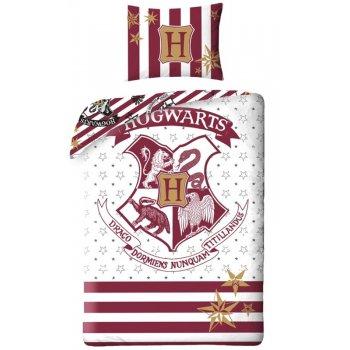 Bavlnené posteľné obliečky Harry Potter - Hogwarts