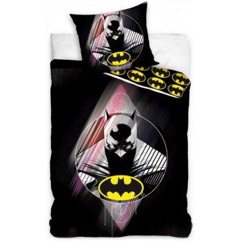 Bavlnené posteľné obliečky Batman Shadows