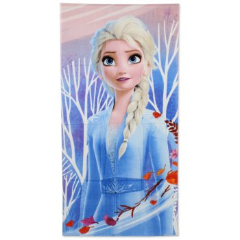 Bavlnená plážová osuška Ľadové kráľovstvo - Elsa