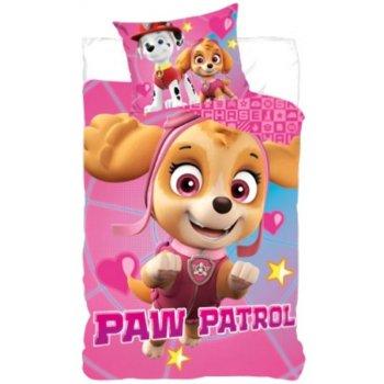 Bavlnené posteľné obliečky Paw Patrol - Skye