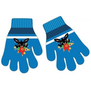 Detské pletené prstové rukavice Zajačik Bing