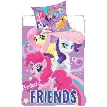 Bavlnené posteľné obliečky My Little Pony - Perfect friends